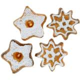Litter deco biscuits star 24pcs