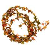Autumn garland orange 3m
