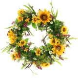 Wreath sunflower Ø40cm
