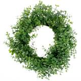 Wreath Eucalyptus Green Ø36cm