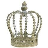 Antique gold crown Ø11cm H13cm