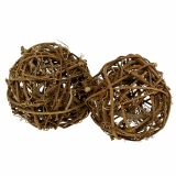 Ball of vine Ø10cm 10pcs