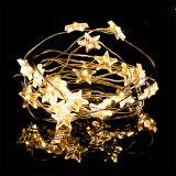 LED light wire stars 20er 2.3m warm white