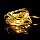 LED light chain 20 inside 2m warm white timer battery operated