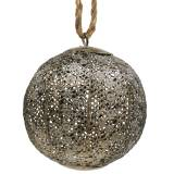Metal ball antique for hanging Ø13,5cm