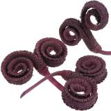 Palm Male Wine Red 25pcs For dry arrangements