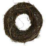 Vine wreath with willow nature Ø40cm