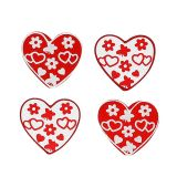 Litter heart sort. 3cm 24pcs