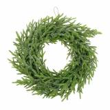 Fir wreath Ø24cm green