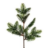 Fir branch artificial 36cm green 2pcs