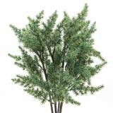 Juniper branch artificial green 36cm 4pcs