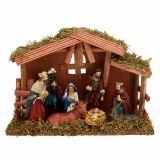 Nativity scene 30cm x 21cm x 10cm