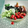 Grapes green 17cm